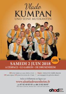 Vlado Kumpan und Seine Musikanten Drusenheim 2018 Frankreich