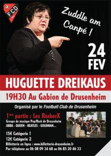 Huguette Dreikaus et les RazberX à Drusenheim