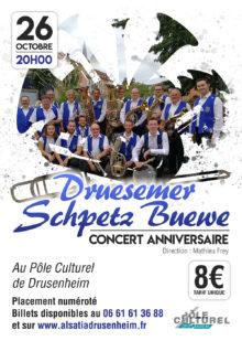 Concert Druesmer Schpetz Buewe à Drusenheim 2019