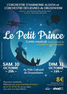 Concert spectacle conte musical Petit Prince harmonie Drusenheim